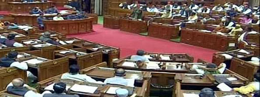 UP Assy, council disrupted over threat on SP president
