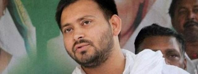 Tejaswi meets Lalu in RIMS, flays Central and Bihar govts