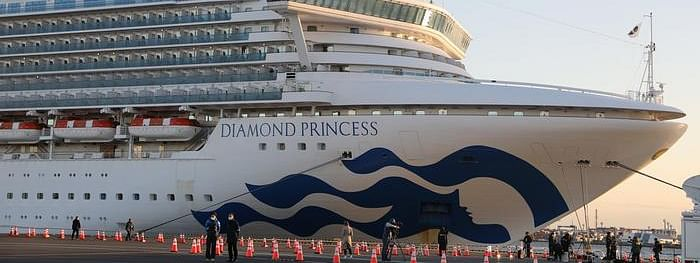 Japanese cruise ship Diamond Princess