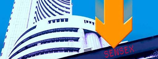 Sensex crashes over 800 pts