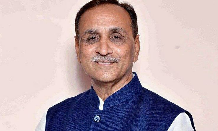All decked up for Trump's visit: Rupani