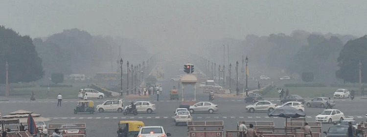 Delhi air quality deteriorates