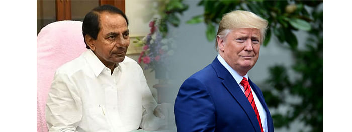 KCR to join dinner with Trump at Rashtrapati Bhavan