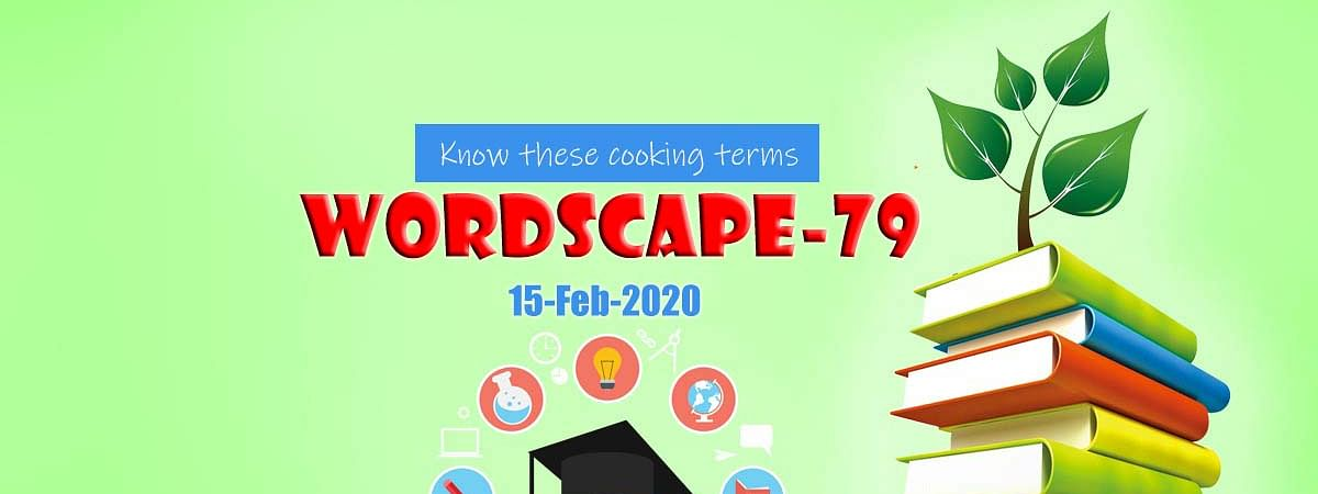 Wordscape-79 (Know these cooking terms)