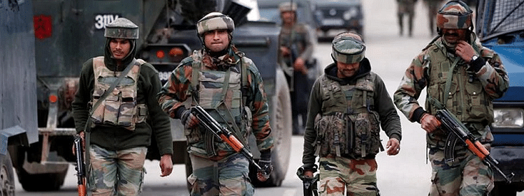 Security forces launch search operation in Kulgam