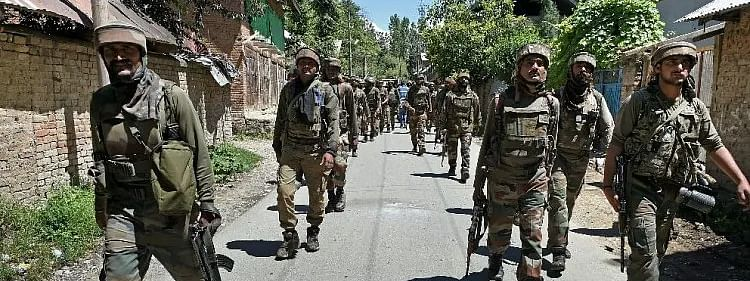 Security forces launch CASO in Ganderbal