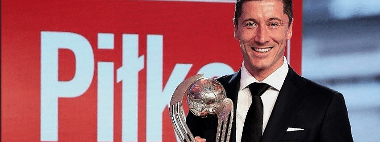 Lewandowski wins Polish Footballer of the Year award