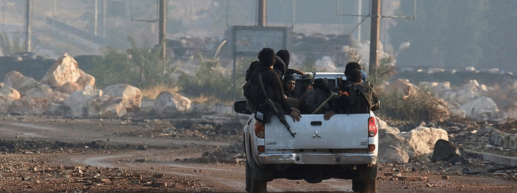 Syrian rebels launch assault in western Aleppo countryside