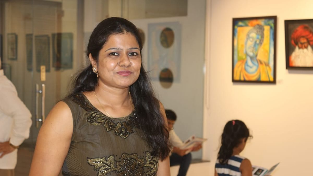 Parul Golchha Ranka - the meditative artist