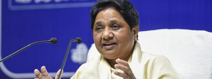 SP's 'casteist mentality' for change in name of Sant Ravidas Nagar: Mayawati