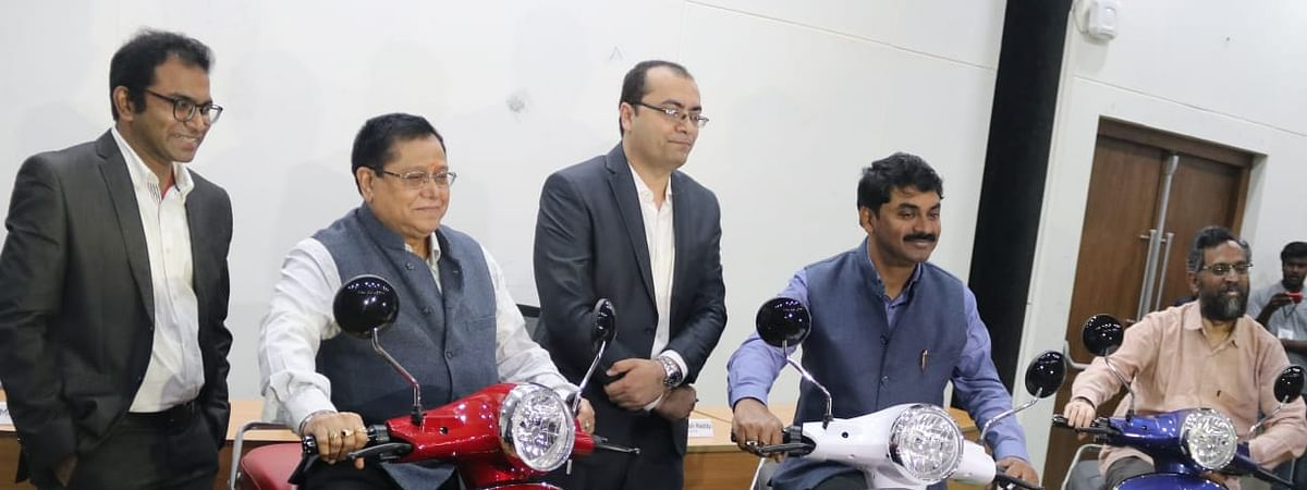 IIT-H incubated Startup PURE EV to launch long range electric scooter