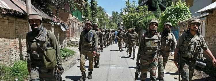 Security forces launch CASO in Kashmir's Bandipora