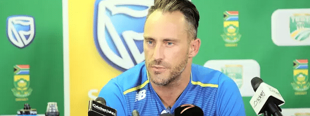 Faf du Plessis steps down as Proteas captain in all formats