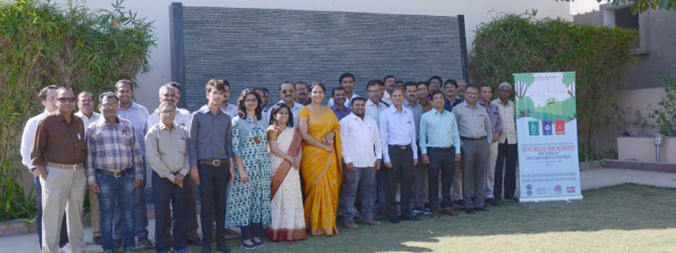 Team from RCUES on study trip to Gujarat