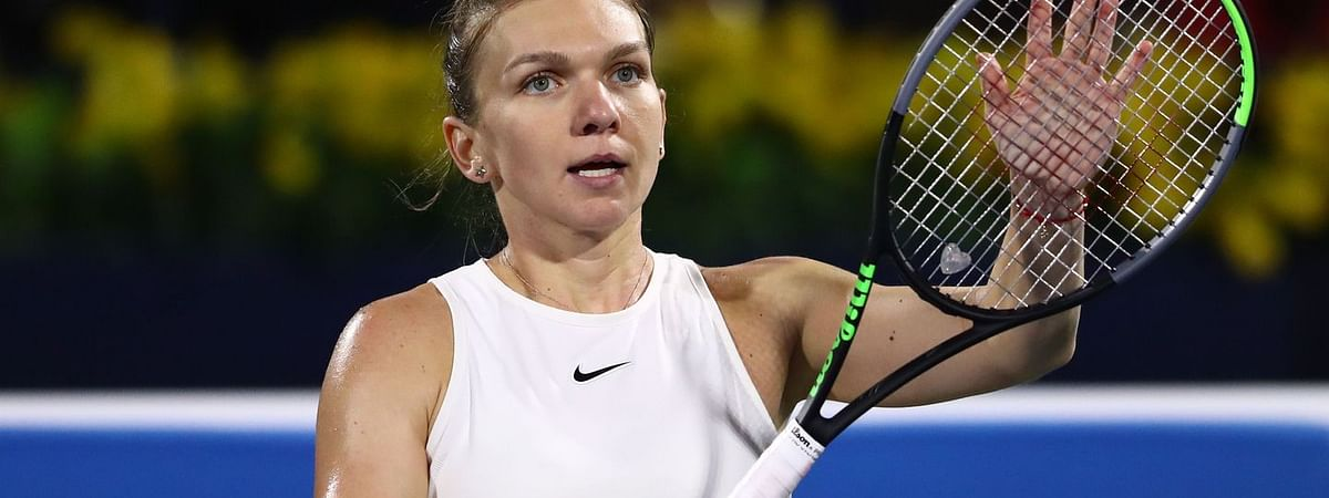 Top-seed Halep eases past Brady to reach Dubai final