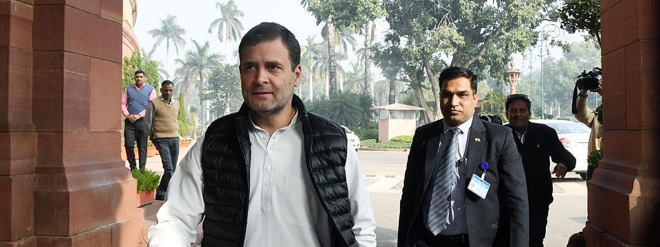 'Rambling, only talk and talk, nothing else', Rahul on FM's Budget speech