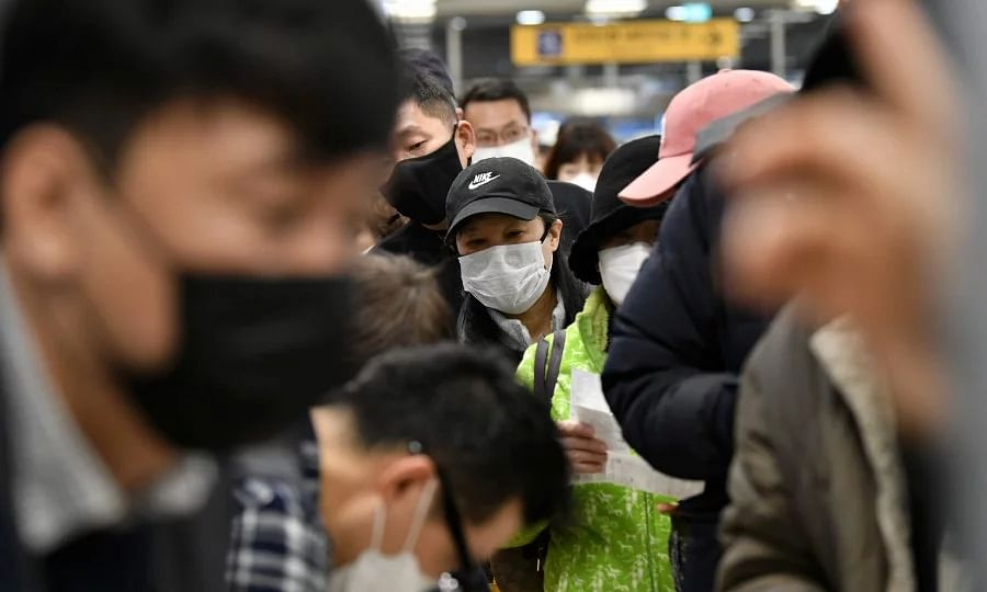 More than 1000 infected by COVID-19 in S Korea