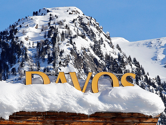 In Davos, Once and Only Once