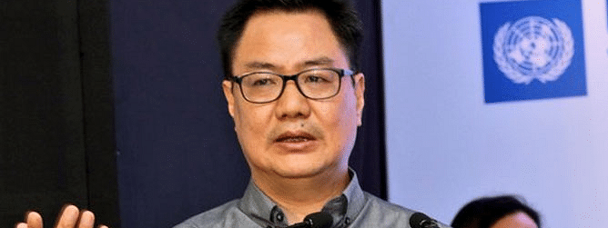 Govt has not given permission to Kabaddi players to go to Pakistan: Kiren Rijiju