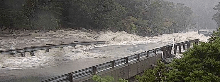 Flood: Around 382 trapped in southwestern New Zealand