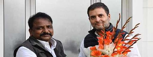Newly appointed Andhra PCC president, working presidents meet Rahul Gandhi