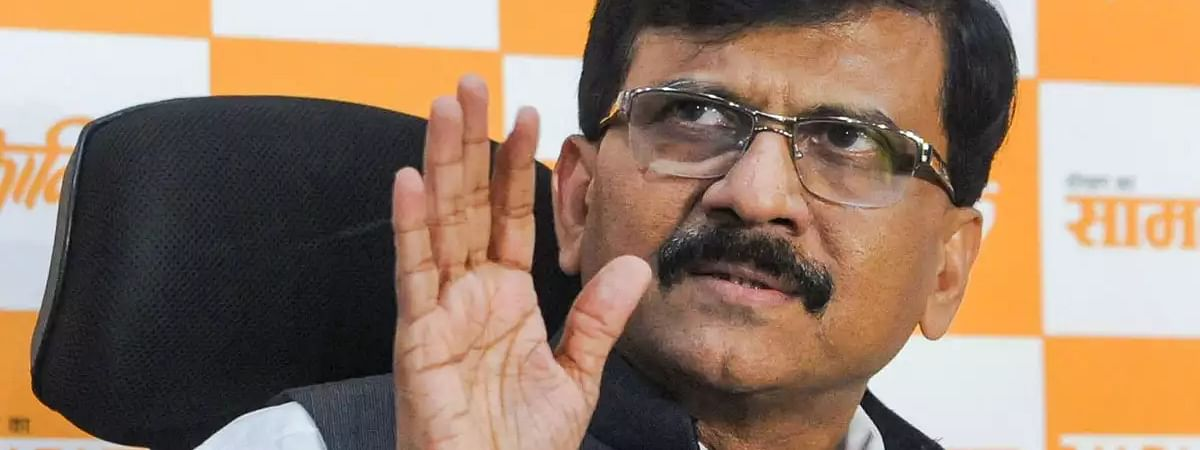 SS MP Sanjay Raut accuses Govt of creating atmosphere of fear