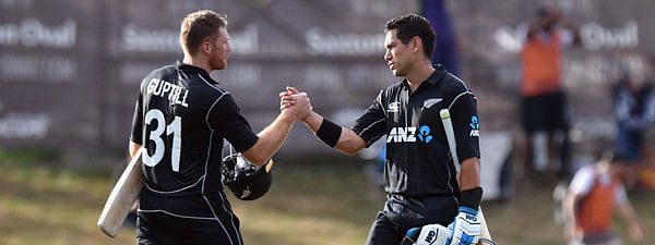 New Zealand set a winning target of 274 before India