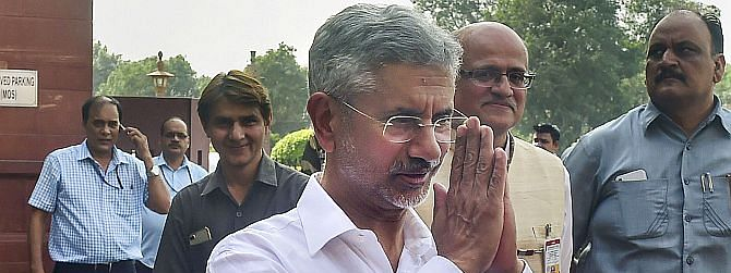 Jaishankar files caveat in SC over plea challenging his election to RS