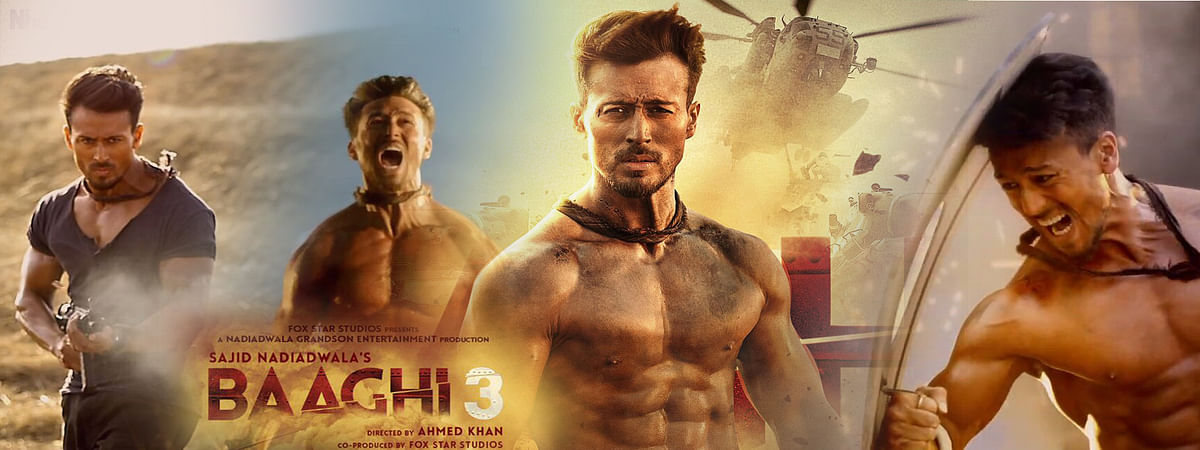 Baaghi 3 takes humour to exotic deadly fights