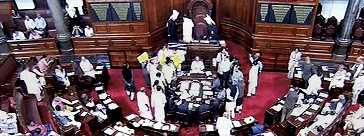 RS adjourned for 3rd time till over NPR issue