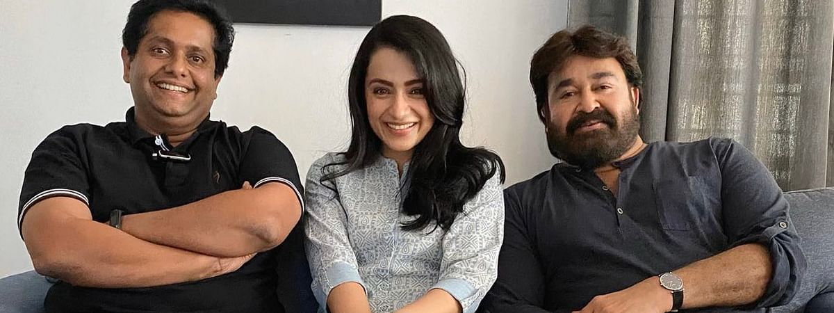 Trisha's outing in Malayalam with Mohanlal