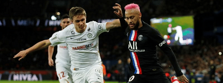Pink-haired Neymar powers PSG to 5-0 win over Montpellier