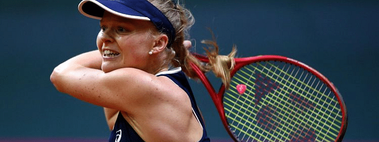Slovakia one win away from advancing to the Fed Cup Finals