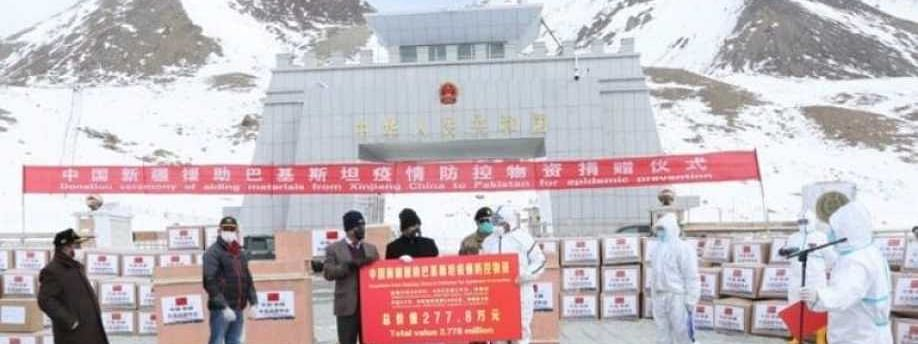 Pakistan opens borders to medical supplies from China