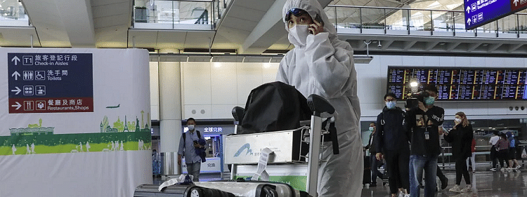 All international arrivals to be sent to quarantine in Hong Kong
