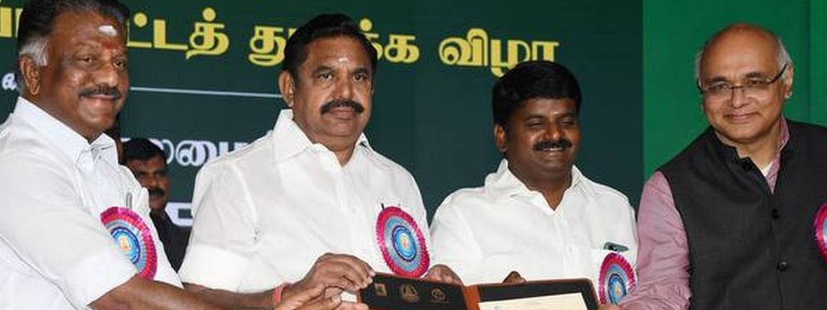 Palaniswami launches TNHSRP