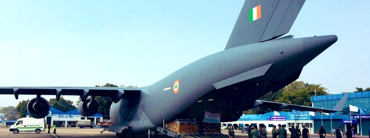 India sends 15 tonnes of relief to China