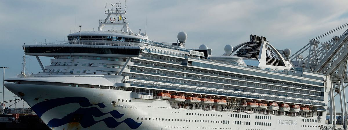 23 disembarks from Grand Princess after ship docks at Oakland