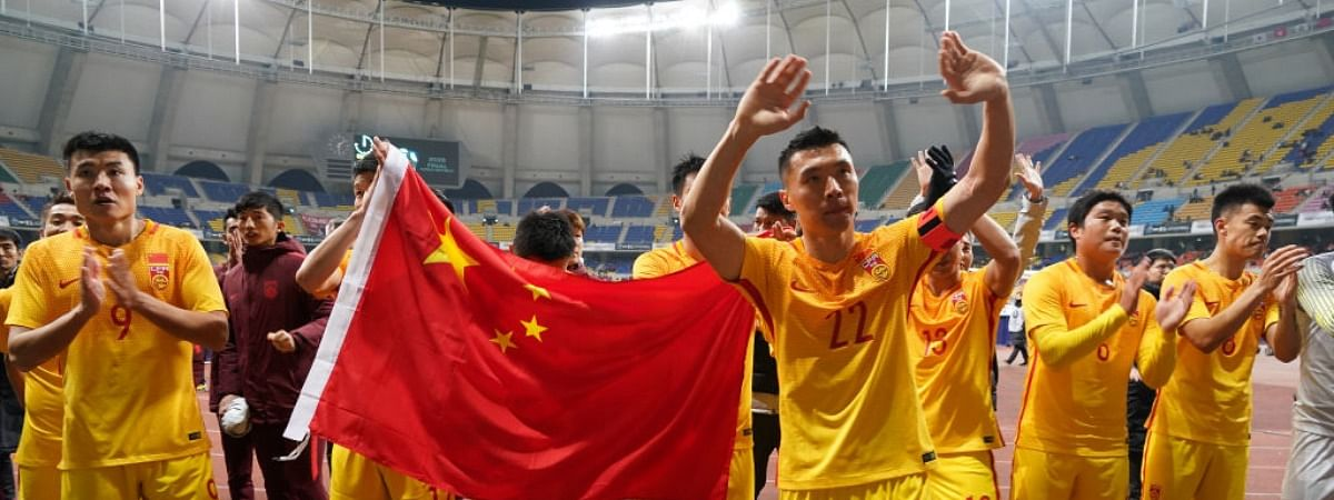 Chinese men's football team all test negative for COVID-19