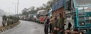 Traffic restored on Kashmir highway, only stranded vehicles allowed