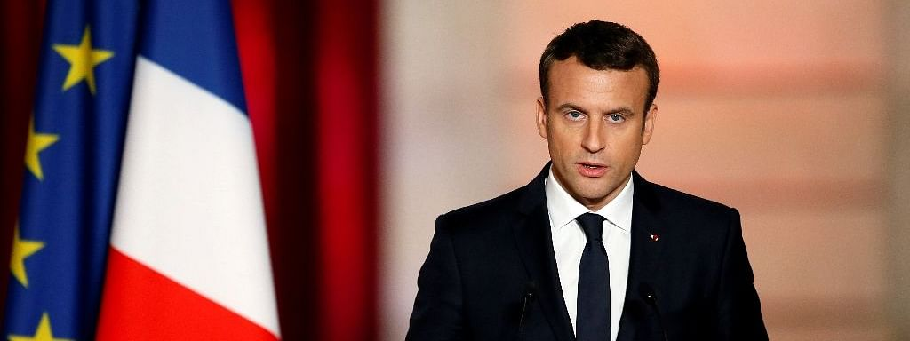We are at war: French President Macron