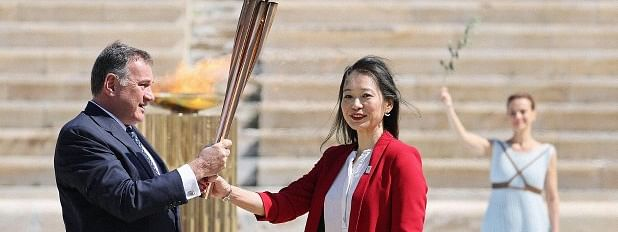 Olympic flame arrives in Japan amid coronavirus fears