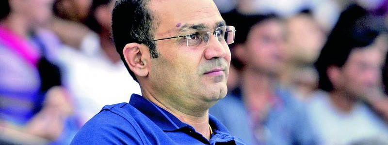 Sehwag opens his first VS brand store in Gujarat