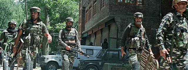 Four militant associates arrested, war-like stores recovered in north Kashmir