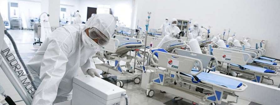 Seventeen States earmarking hospitals for COVID-19