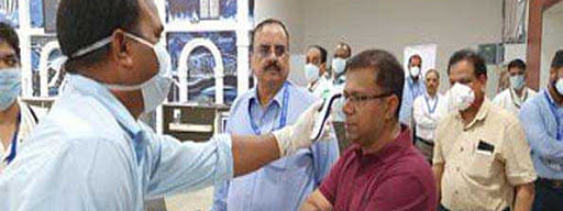 Coronavirus: Goa Health Minister conducts inspection of Airport