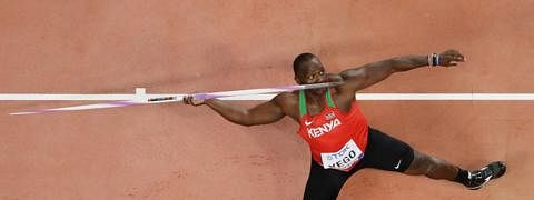 Africa javelin champ focuses on Olympics despite corona threat