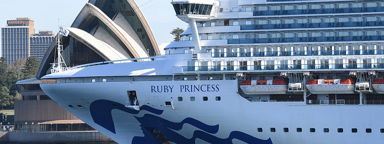 Ruby Princess contribute to largest daily rise in Covid19 cases in Australia
