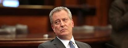 Greatest crisis since the Great Depression, says New York mayor