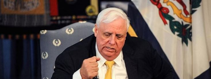 West Virginia Governor Jim Justice